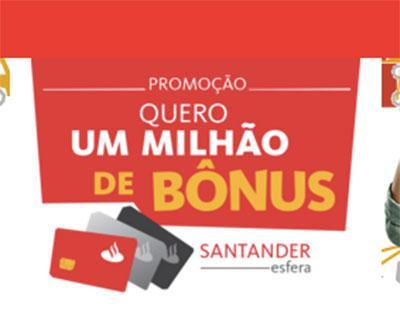 Promoção Santander